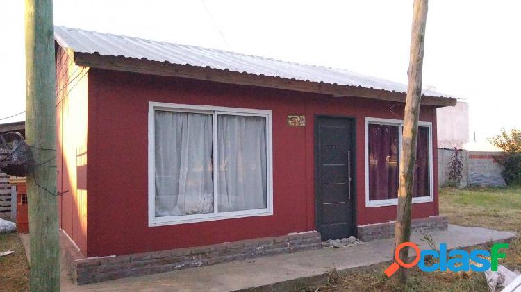 Casa prefabricada 2 dormitorios en venta