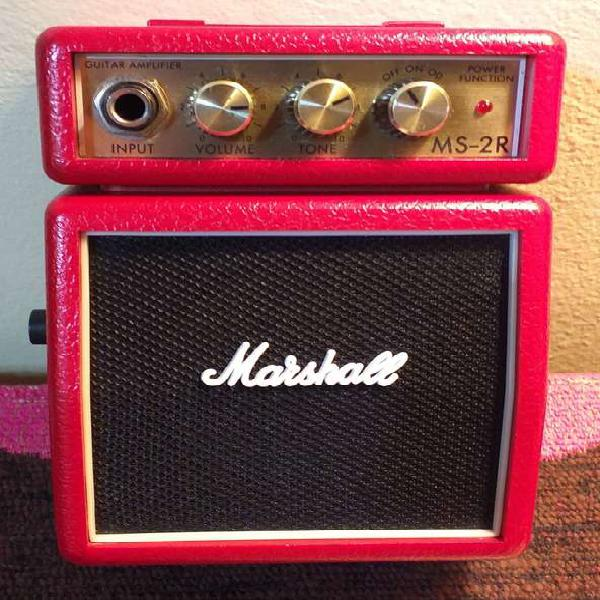 Amplificador marshall ms-2r - clear and overdrive