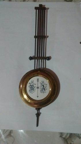 Antigüo péndulo reloj de pared