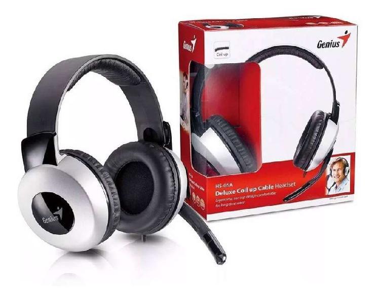 Auricular 《nuevos》 genius hs-05 a headset con microfono