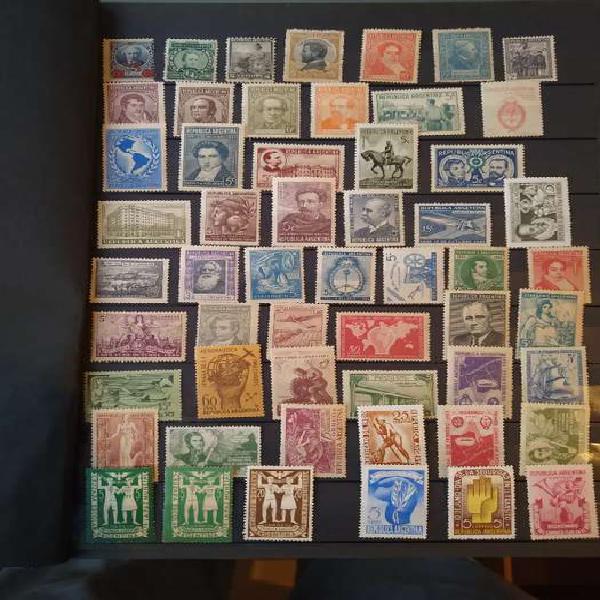 Colección estampillas argentina nuevas desde 1890 a 1985.