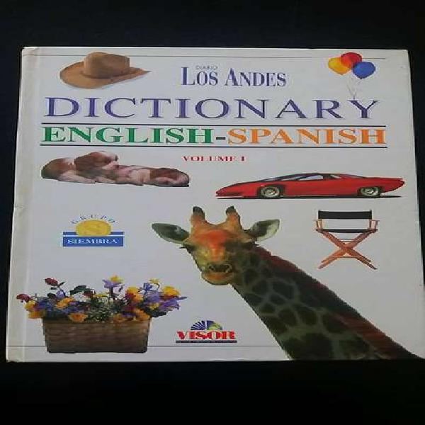 Diccionario inglés español y fonética ilustrado tapa dura