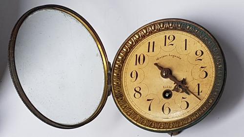Maquina francesa antigua para reloj maison lagache lille