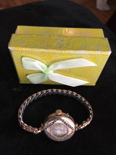 Reloj antiguo pulsera lenox1/20-10k gf suizo.ench.oro20%deto