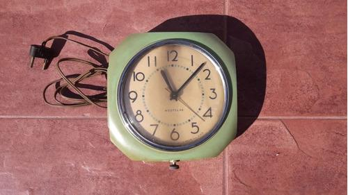 Reloj electrico antiguo de pared westclox