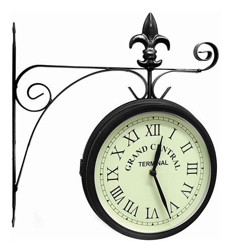 Reloj pared decoración casa living estilo antigüo 20cm