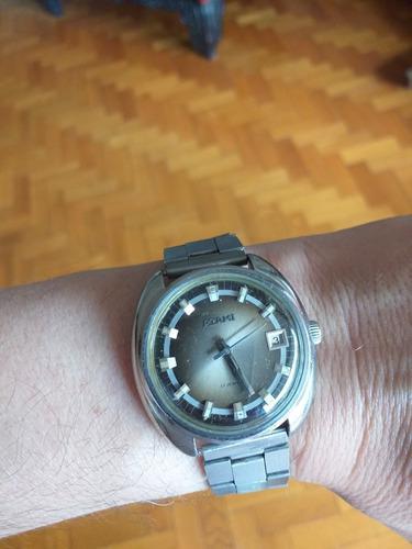 Reloj suizo antiguo vintage a cuerda marca atami