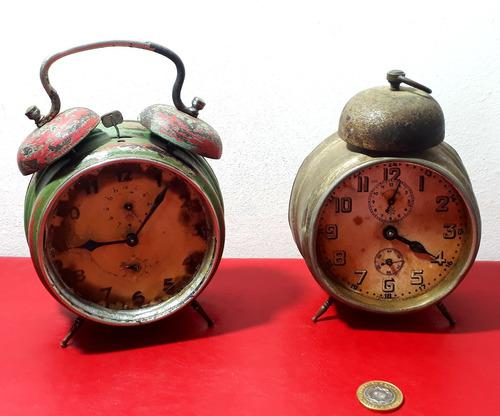Relojes antiguos solo para deco vintage retro