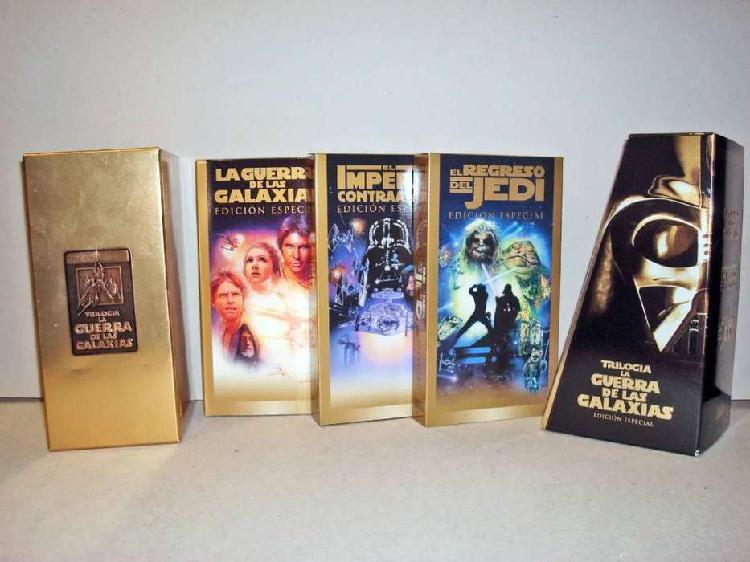 Trilogia la guerra de las galaxias edicion especial vhs 1997