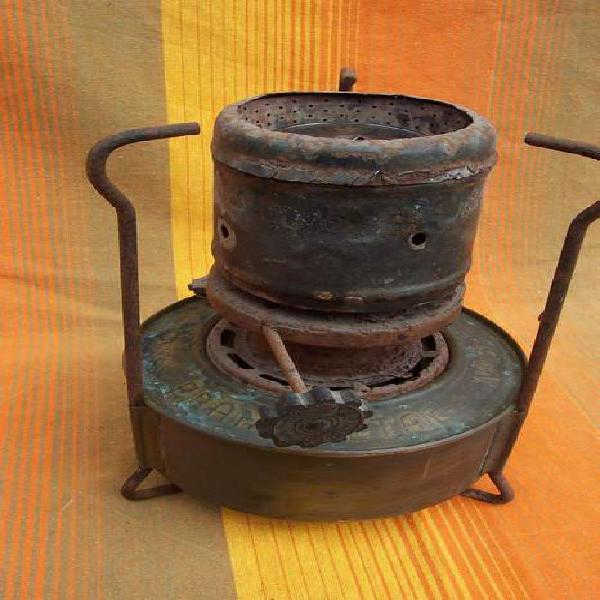 Calentador bram metal nª 3 para convertir en lampara