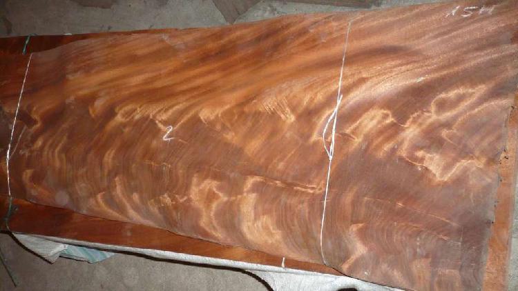Chapa de madera de pluma de caoba