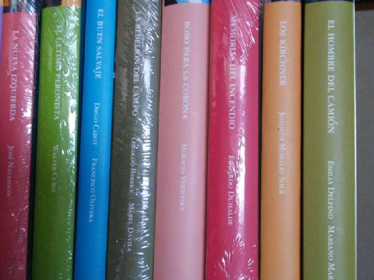 Coleccion de libros sobre politica argentina, sudamericana