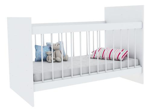 Cuna infantil para bebes de madera 127x60 cm reforzada