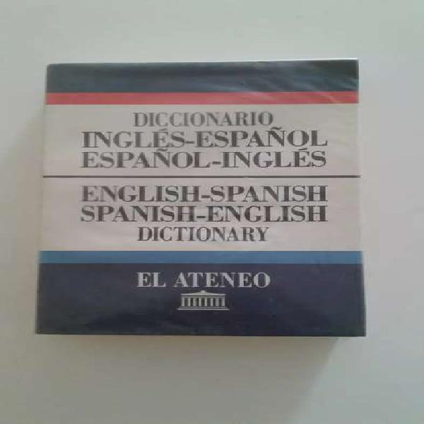 Diccionario ingles español - español ingles