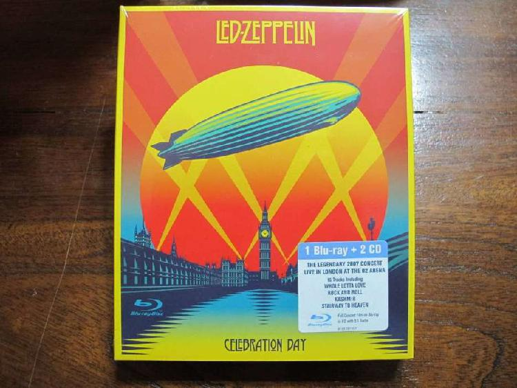 Led zeppelin - celebration day - bluray + 2xcd