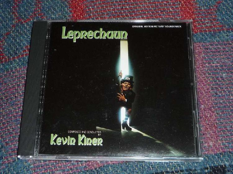 Leprechaun kevin kiner. cd banda de sonido descatalogada.