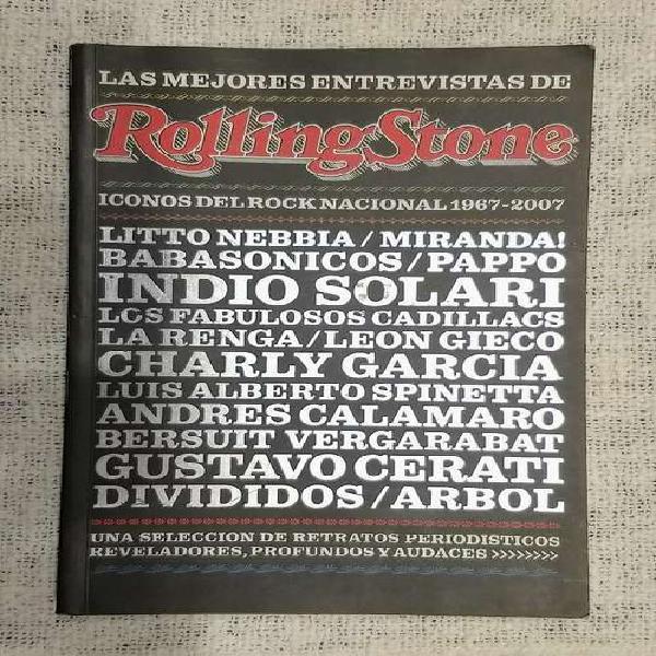 """Libro """"mejores entrevistas de la rolling stone"""""""