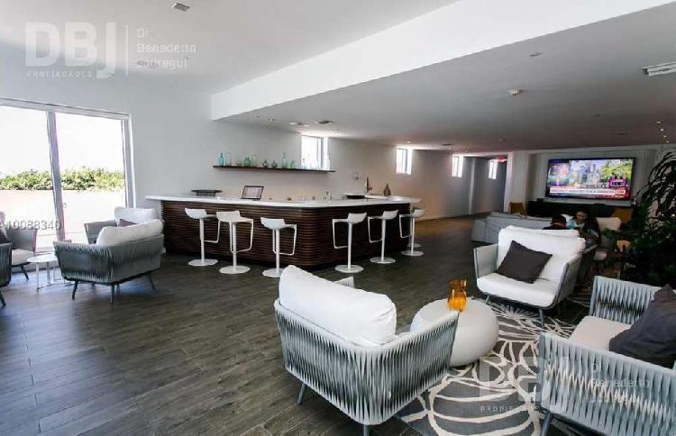 Miami zona hallandale - terraza infinity edge - piscina -