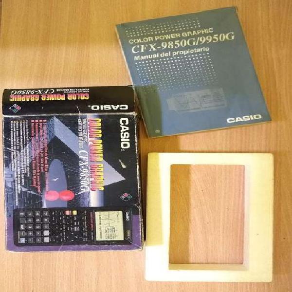 Manual casio fx 9850g