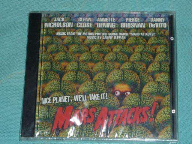 Mars attack danny elfman. cd banda de sonido descatalogada!