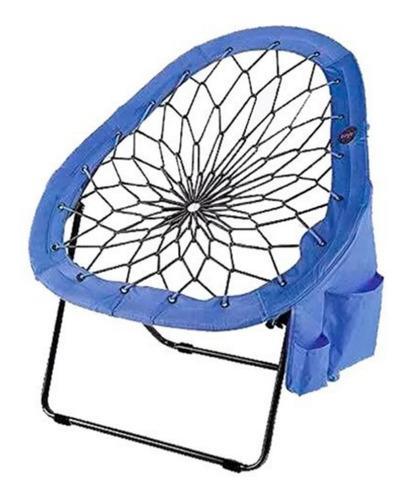 Reposera sillon plegable gamer de elasticos - bungee chair !