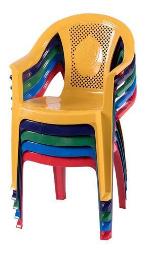 Silla sillon infantil plastica isabella apoyabrazos x 2 unid