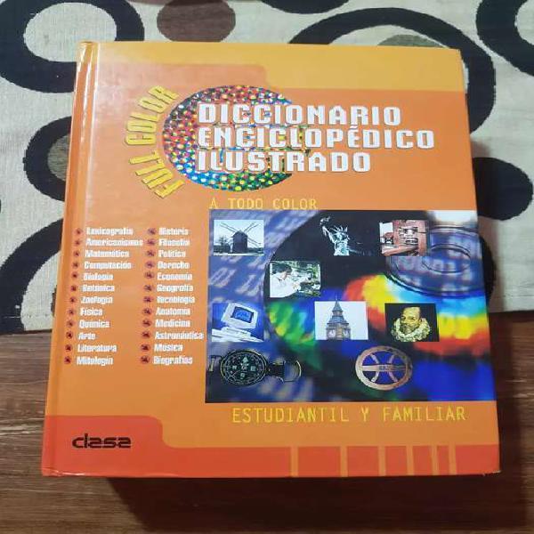 Vendo diccionario enciclopédico ilustrado clasa