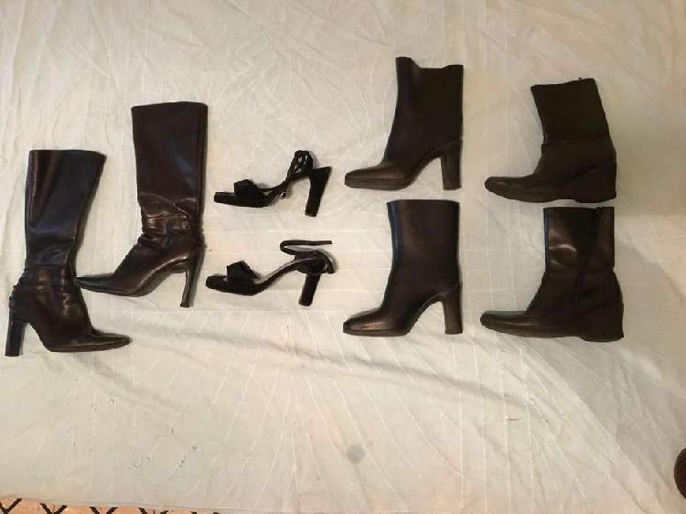 Vendo set de calzado número 37 impecables. cinco pares.