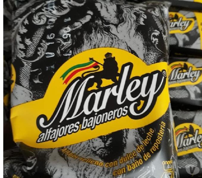 Alfajores bajoneros, marley