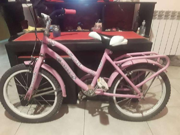 Bicicleta para niña r16 color rosa