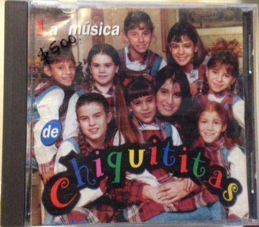 Cd Chiquititas La Musica