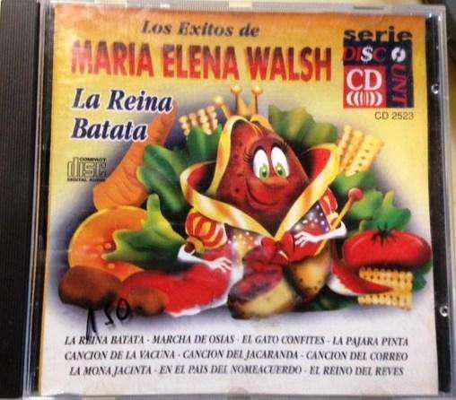 Cd Los Exitos De Maria Elena Walsh La Reina Batata