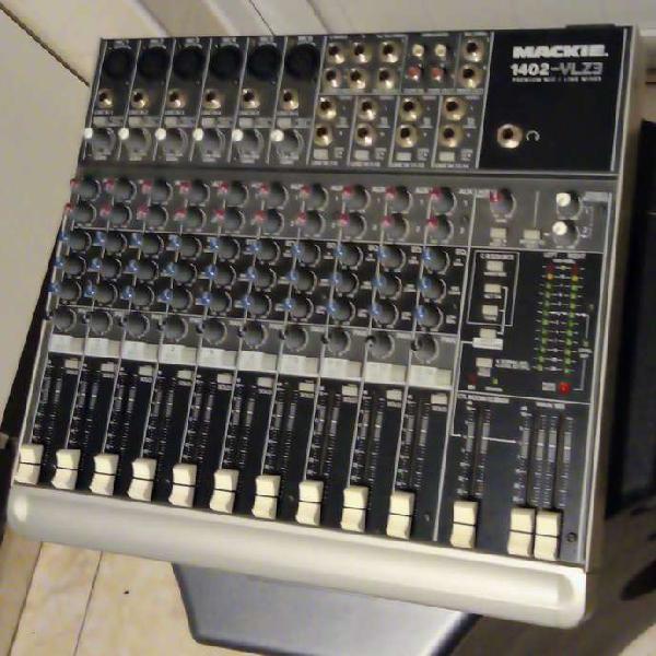 Consola analógica profesional mackie 1402-vlz3