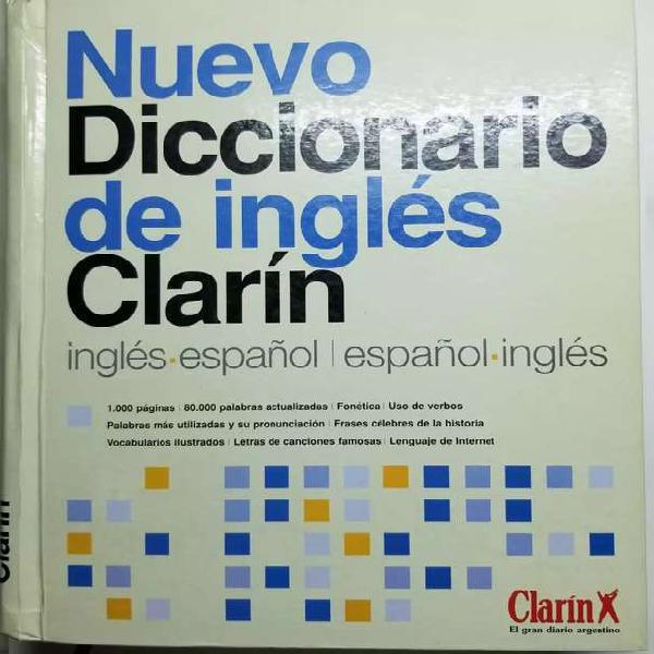 Diccionario ingles español español ingles clarin tapa dura