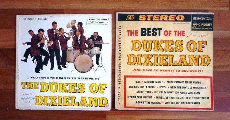 Discos vinilos the dukes of dixieland lote x 2
