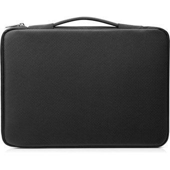 "Funda para Laptop de 14"" HP Carry-Negro con Plateado"