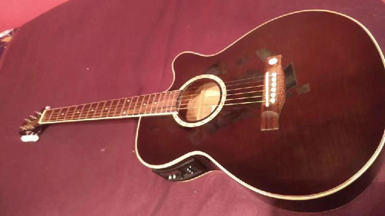 Guitarra electroacústica tenson como nueva,capital,congreso