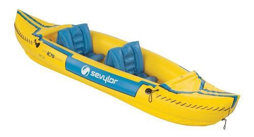 Kayak / canoa inflable sevylor tahiti para 2 personas local