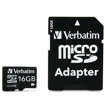 Memoria Micro SD Verbatim 16GB Clase 10