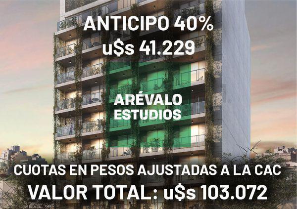 Arevalo 1400 - departamento en venta en palermo, capital