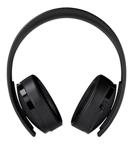 Auriculares headset gold wireless sony ps4 ps3 accesorios