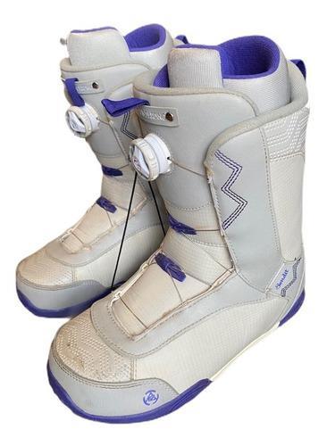 Botas de snowboard usadas k2 sendit boa talle 41.5