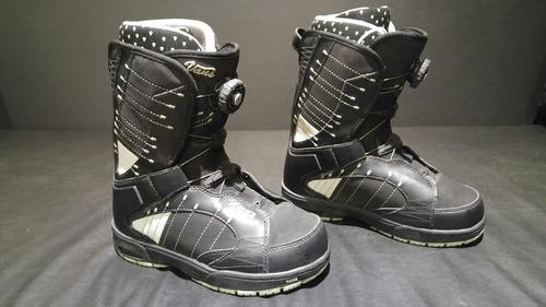 Botas snowboard usadas talle 7 us 37 europa vans snow boots