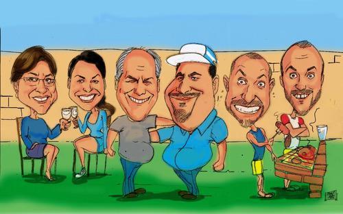 Caricaturas dia del amigo 2x1 para todo el pais !