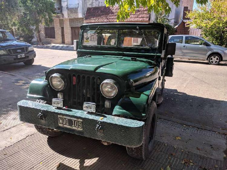 Jeep ika corto motor 230 caja zf permuto