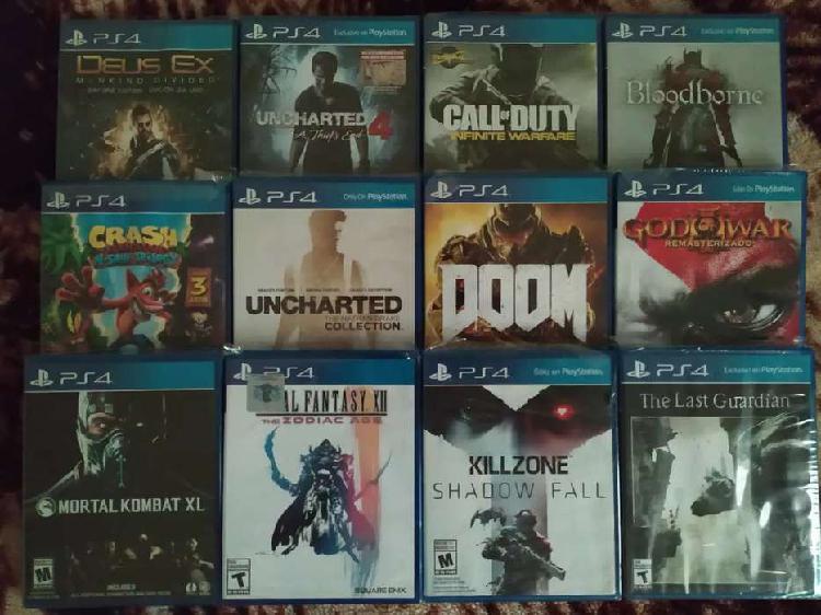 Juegos ps4 pack 12 juegos