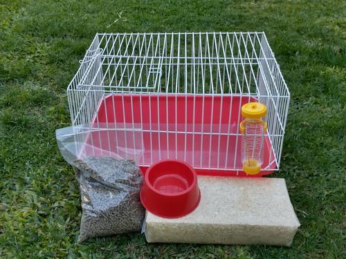 Kit completo para cobayo/conejo