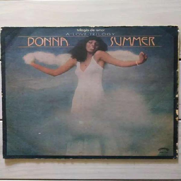 Lp vinilo donna summer trilogía de amor ( ver descuentos)