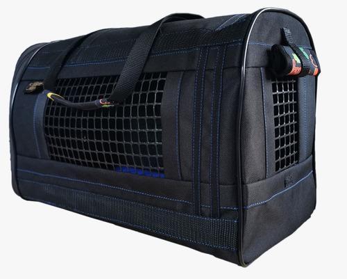 Bolso de transporte gatos y perros semi rígido ideal avión