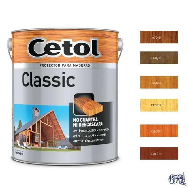 Cetol classic satinado x 4 lts